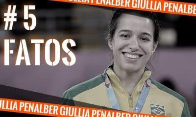 Com a medalha dos Jogos Pan-Americanos no peito, Giullia Penalber do wrestling é a participante do quadro do OTD #5fatos - Arte: Caio Poltronieri