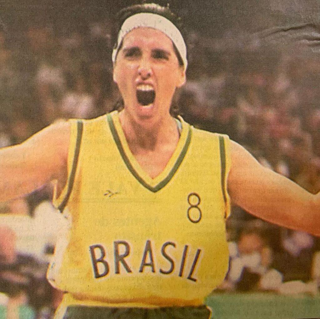 Magic Paula foi um dos destaques do basquete na conquista da medalha de prata em Atlanta-1996 (Reprodução/Instagram)