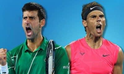 """Nadal e Djokovic acham """"difícil"""" retornar torneios da ATP em breve"""