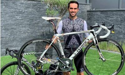 Alberto Contador leiloa bike para levantar fundos contra o coronavírus