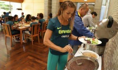 Alimentação dos atletas em quarentena é destaque do COB