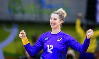 Babi Arenhart - seleção brasileira de handebol - Olimpíada de Tóquio 2020