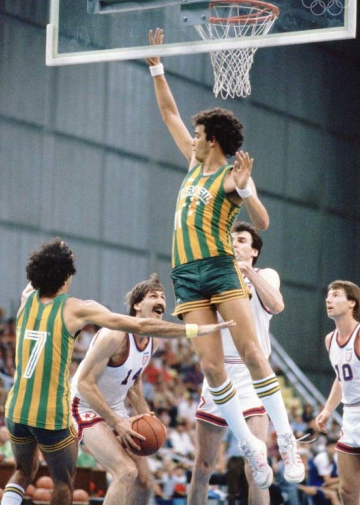 Brasil x Iugoslávia pelo basquete masculino na Olimpíada de Moscou