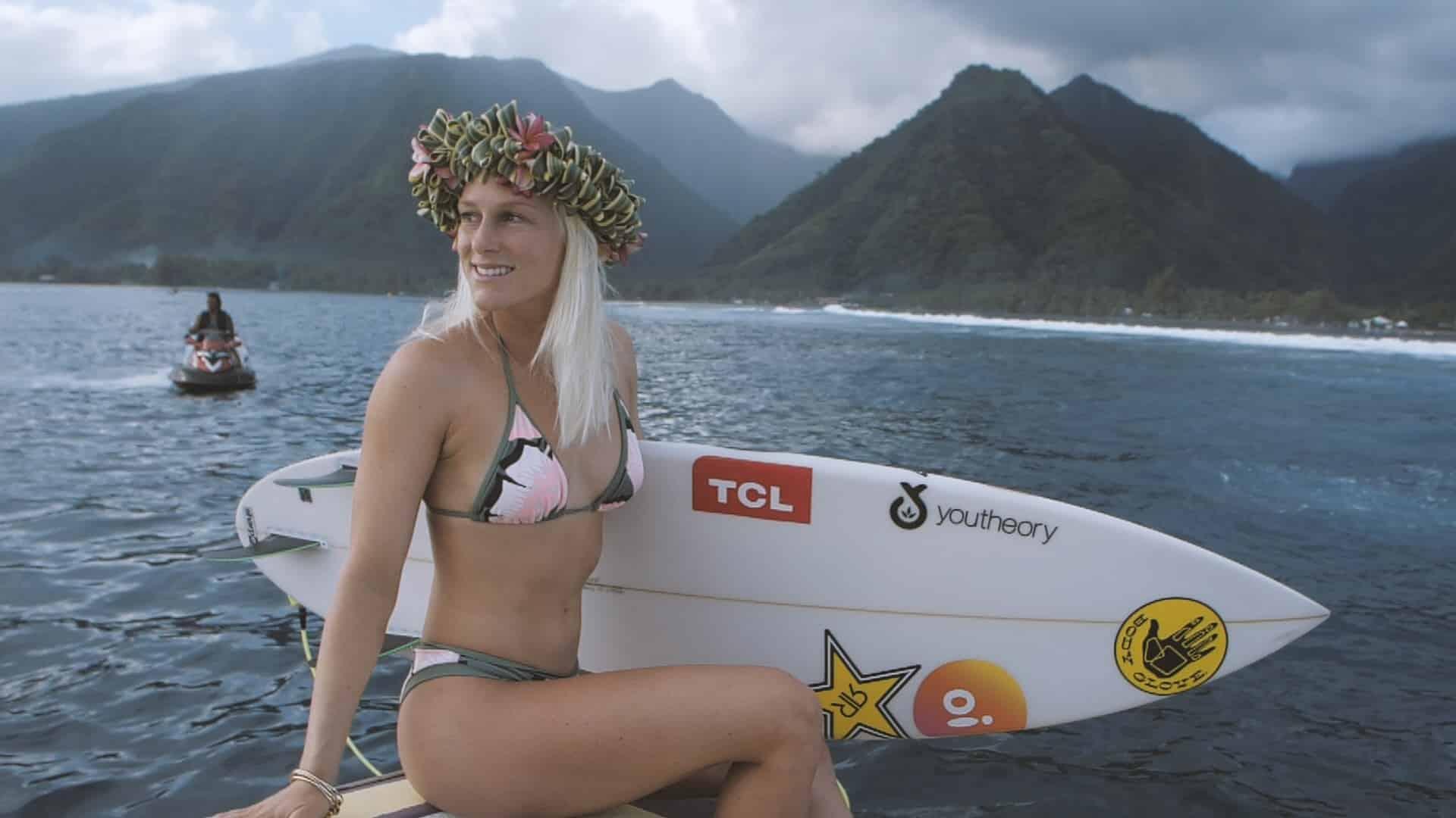 Brasileira, Tati Weston-Webb passou a representar o Brasil na elite do surfe mundial e irá para os Jogos Olímpicos de Tóquio