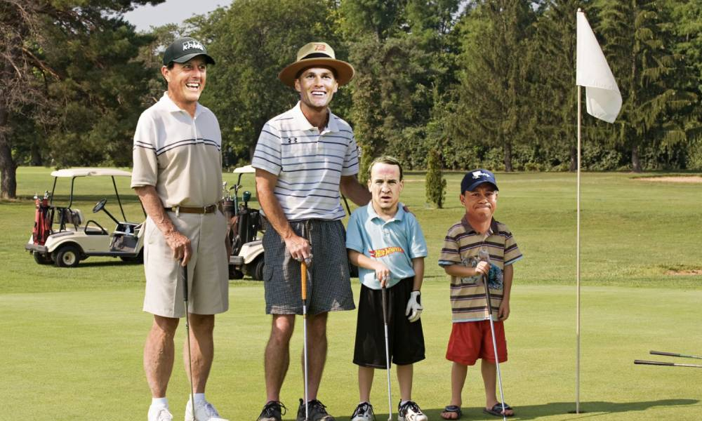 Woods, Brady, Manning e Mickelson jogarão torneio beneficente de golfe