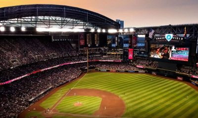 Chase Field, casa do Arizona Diamondbacks, equipe da MLB