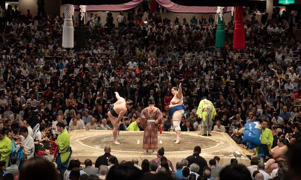 Grand Sumo, evento de prestígio no cenário japonês, será adiado após estado de emergência -  (Wikimedia Commons)