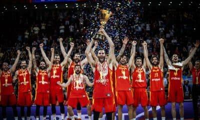 Espanha campeã da Copa do Mundo 2019 de basquete da FiIBA