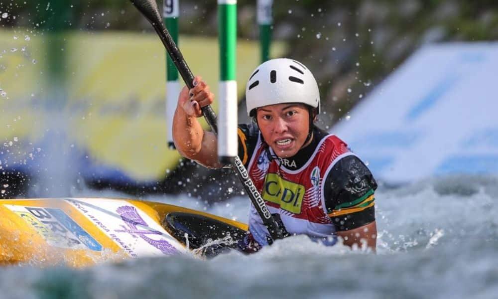ICF Ana Sátila em ação no Mundial de Slalom 2019