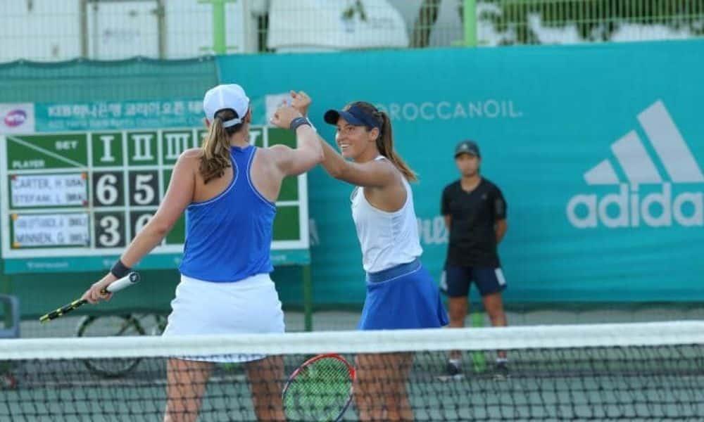 Luisa Stefani é a melhor brasileira no ranking da WTA de duplas