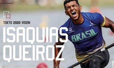 Canoísta Isaquias Queiroz é destaque na publicação da Olympic Review
