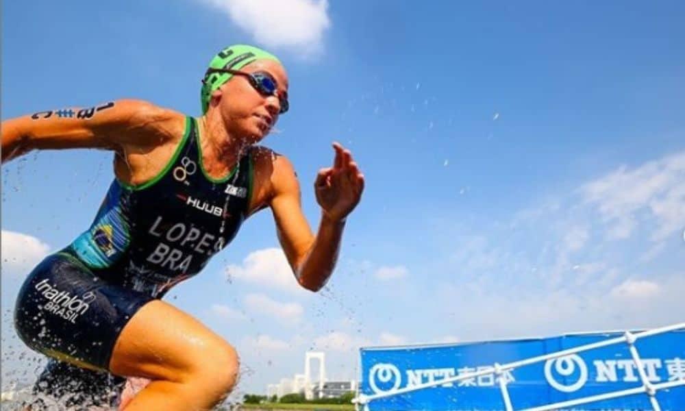 Vittoria Lopes, do triatlo, rumo a Tóquio 2020