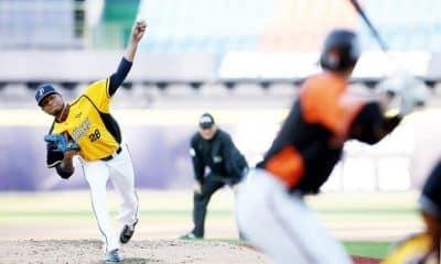 Chinatrust Brothers e Uni-President Lions se enfrentam pela liga de beisebol de Taiwan em meio à pandemia de coronavírus