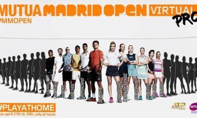 Em meio à pandemia, torneio virtual, Madrid Open Virtual Pro terá Nadal e Murray