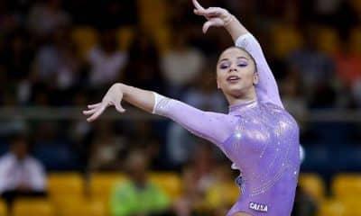 Flávia Saraiva, ginasta da seleção brasileira de ginástica artística, mira na medalha para Tóquio 2020