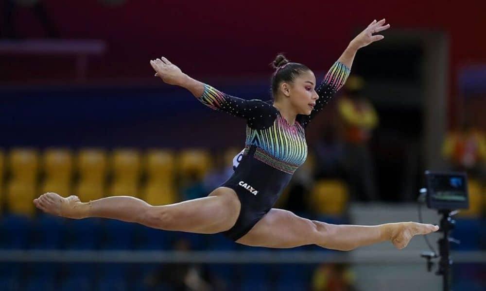 A um ano da estreia de Flávia Saraiva na ginástica artística em Tóquio-2020, a atleta avalia o ciclo e as principais chances de medalha; OTD fala das rivais Jogos Olímpicos Olimpíada