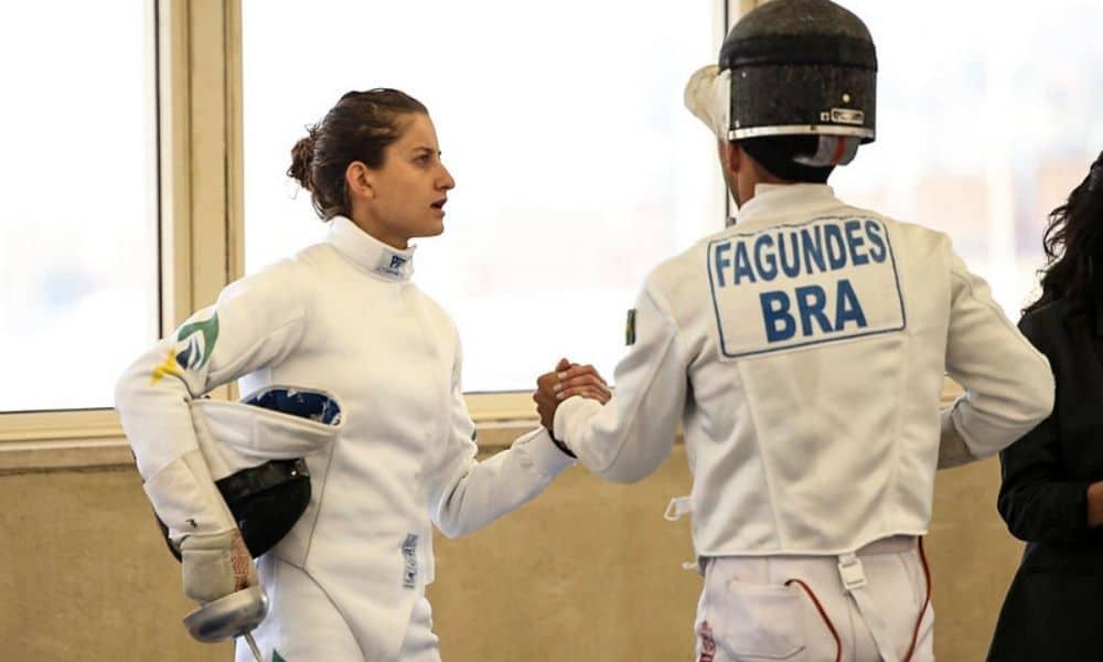Isabela Abreu e Danilo Fagundes, atletas do pentatlo moderno
