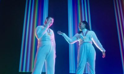 """Sam Smith e Dami Lovato no clipe da música I'm Ready, clipe fala sobre """"Olimpíadas Fora do Comum'"""