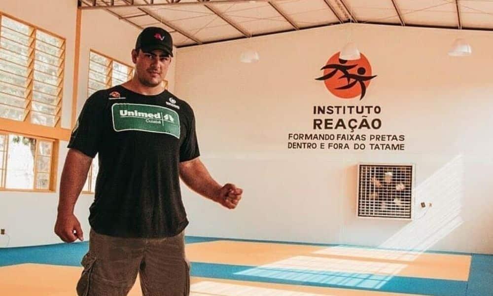 David Moura coordena o Instituto Reação de Cuiabá em meio à pandemia