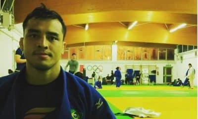 Judoca Eduardo Barbosa