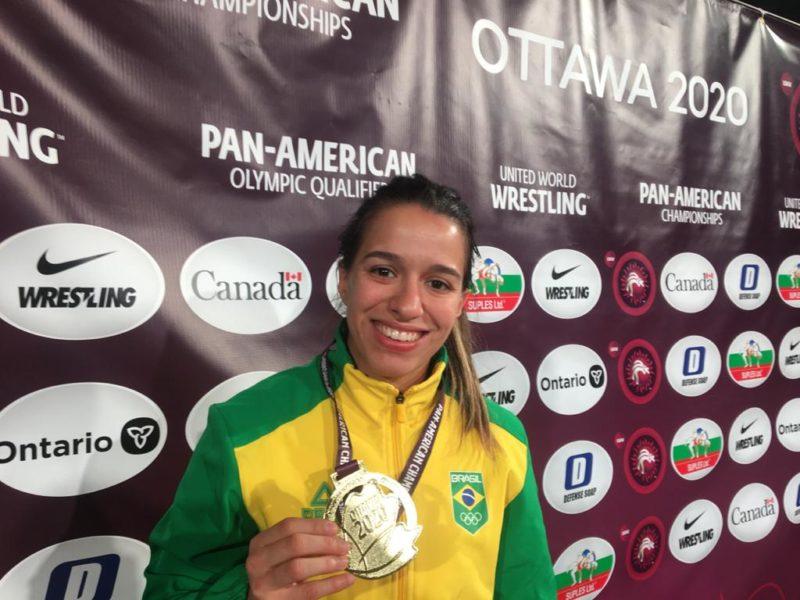 Giullia Penalber subiu no ranking mundial e quer ir aos Jogos de Tóquio