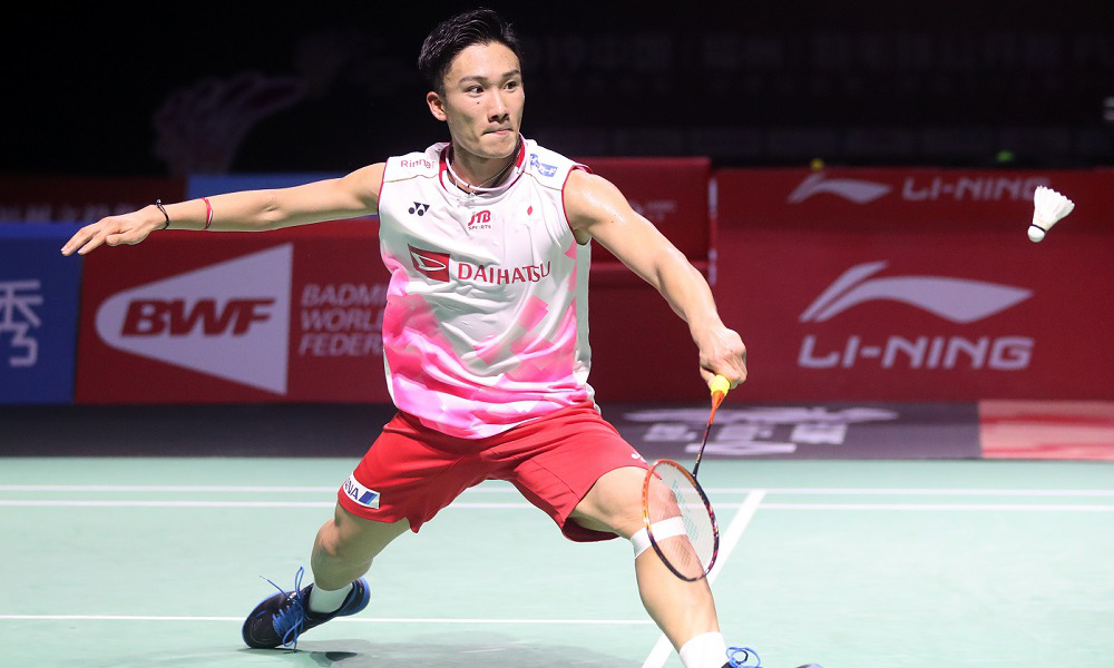 Kento Momota badminton líder ranking japão