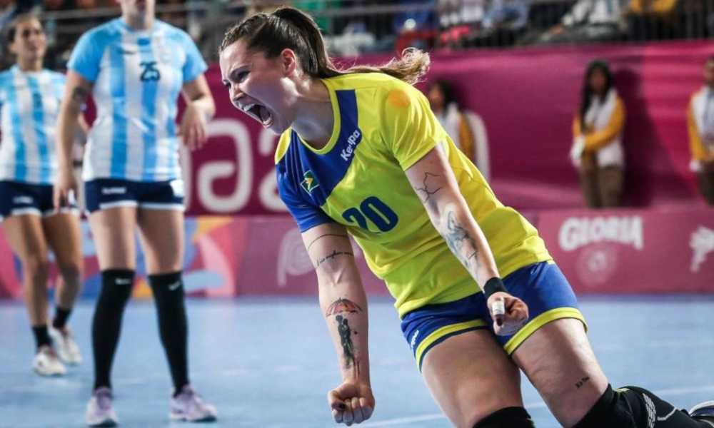 Larissa Araújo Handebol Romênia Coronavírus Jogos Olímpicos de Tóquio 2020 - Olimpíada