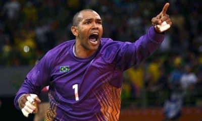 Maik, goleiro de handebol, quer disputar sua terceira Olimpíada e falou sobre os planos após a aposentadoria como atleta