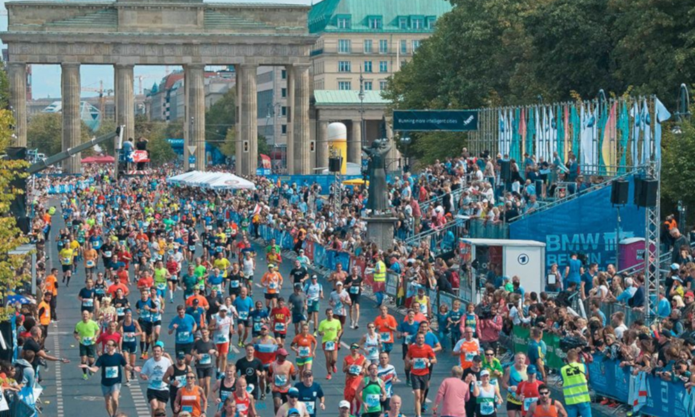 Maratona de Berlim Coronavírus Setembro