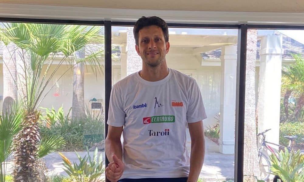 Sem Wimbledon, Marcelo Melo treina durante quarentena em meio à pandemia de coronavírus tênis