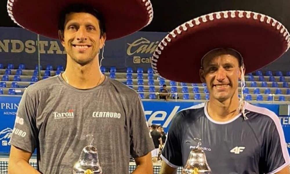 Antes da pandemia, Marcelo Melo e Lukasz Kubot foram campeões em Acapulco. Dupla tentaria o bicampeonato em Wimbledon