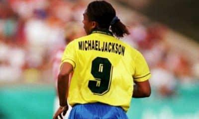 Michael Jackson Futebol Feminino Mundial Atlanta-1996