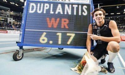 Duplantis - Recordista Mundial - Leilão - Coronavírus