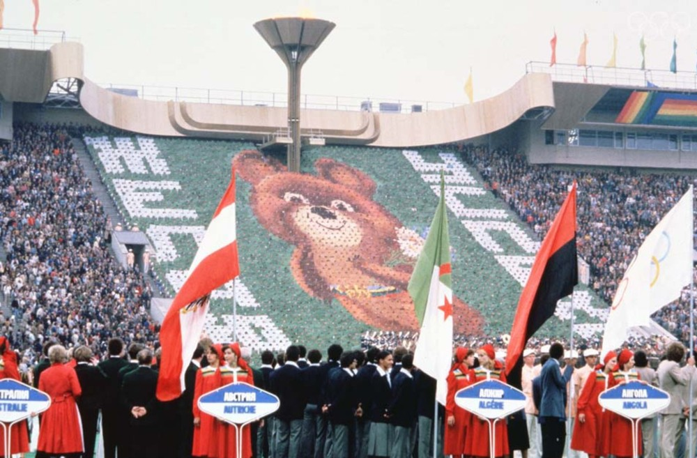 Olimpíada de Moscou-1980, boicotada pelos Estados Unidos
