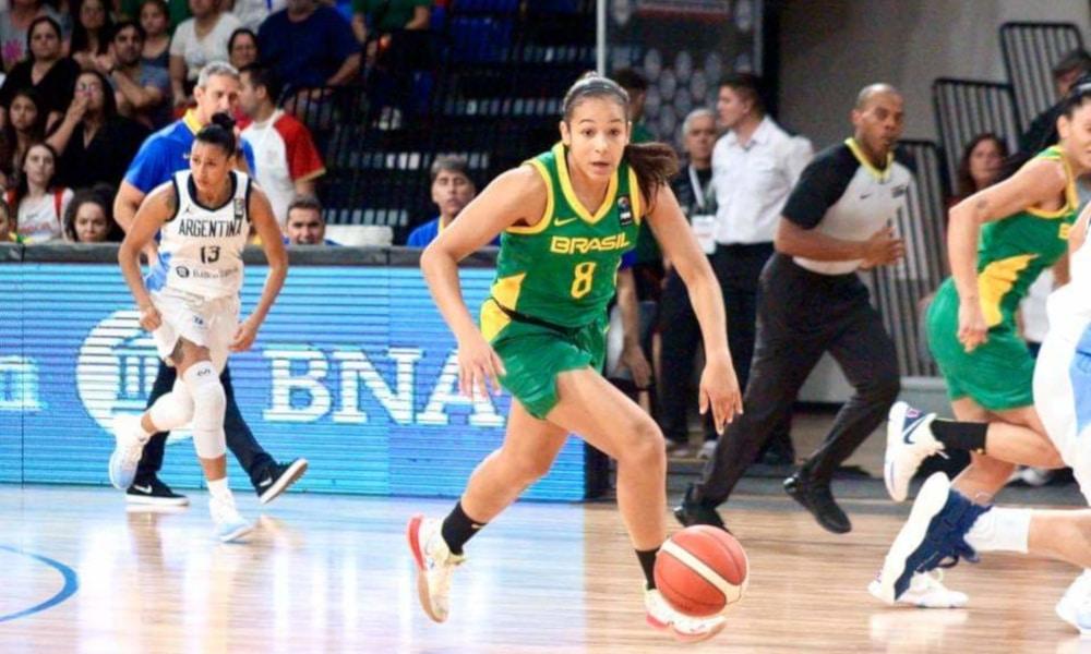 Taiiná Paixão Basquete Seleção Brasileira Magic Paula
