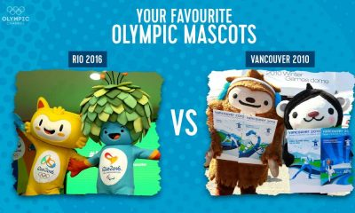 Vinicius e Tom mascotes Rio 2016 votação
