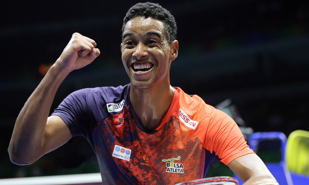 Ygor Coelho badminton ranking mundial brasil