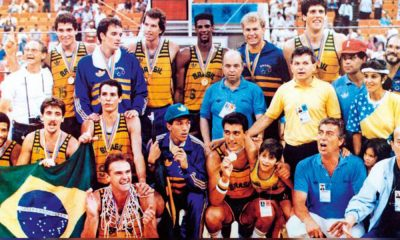Gerson Victalino ouro no Pan de Indianápolis-1987