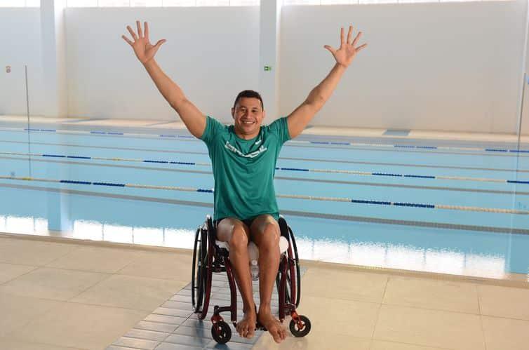 Clodoaldo Silva, o Tubarão da natação, aposta em surpresas na Paralimpíada de Tóquio 2020
