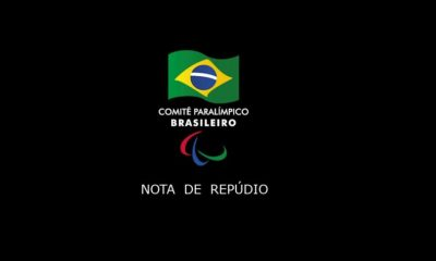 nota de repúdio do Comitê Paralímpico Brasileiro (CPB) contra humorista