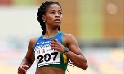 Vitória Rosa, do atletismo, improvisa treinos na escada de casa no Rio de Janeiro de olho nos Jogos de Tóquio nos Jogos Pan-Americanos de Lima-2019
