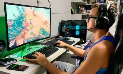 George do vôlei de praia se dedica aos games durante quarentena do coronavírus - vantagem jogos virtuais