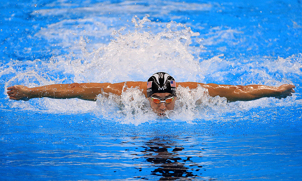 Micheal Phelps na Rio 2016