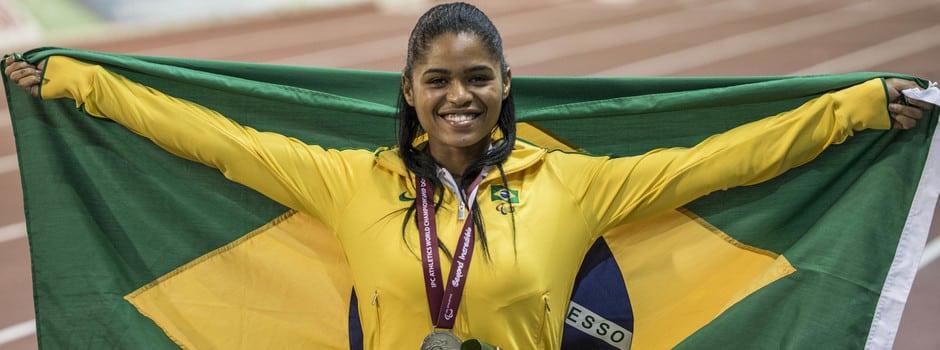 Raíssa Machado - Paratleta - Lançamento de dardo - Aceitação - Preconceito