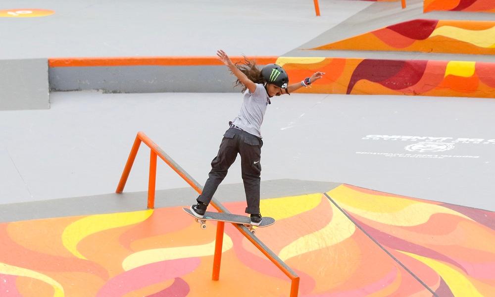 Rayssa Leal Skatista Tóquio Skate