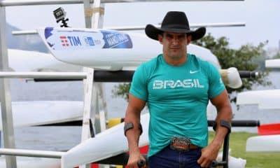Fernando Rufino, o Cowboy, tinha o sonho de ir aos Estados Unidos, mas chegou em Tóquio