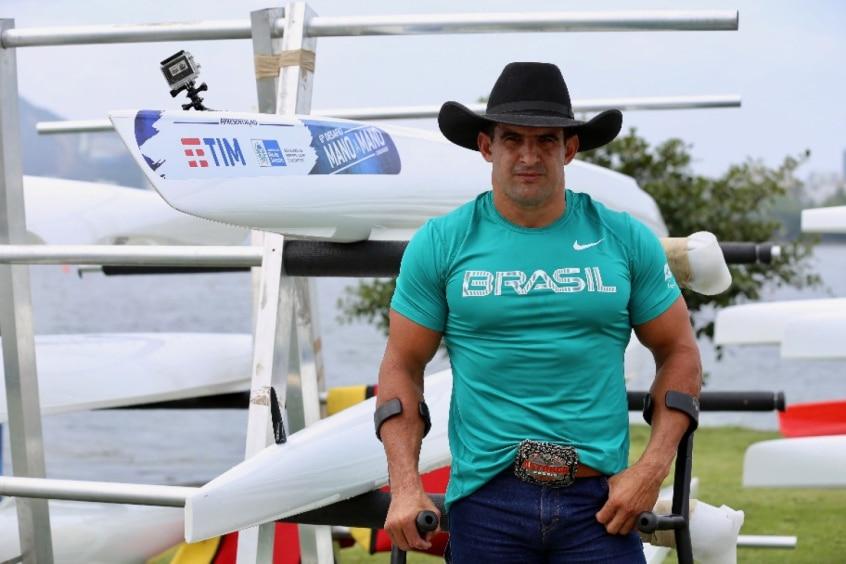 Fernando Rufino, o Cowboy, tinha o sonho de ir aos Estados Unidos, mas sua história o levou a Tóquio