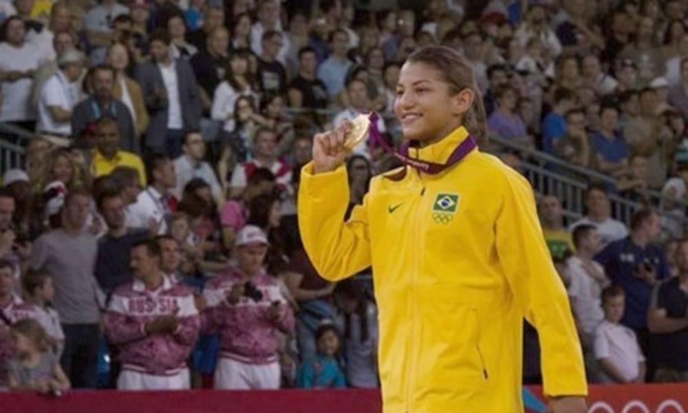 Sarah Menezes e Felipe Kitadai: ouro e bronze em Londres 2012