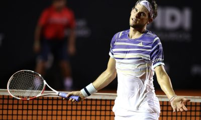 Dominic Thiem se mostrou contrário ao fundo de doação dos tênis durante o coronavírus