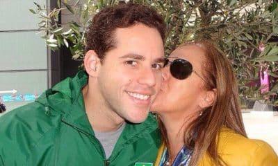 Thiago Pereira e Rose Vilela natação